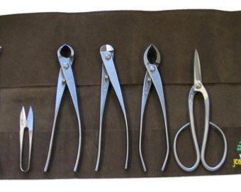 Bonsai Tool Kit, Authentic Japanese Bonsai Tool Kit (Advanced) Brand New