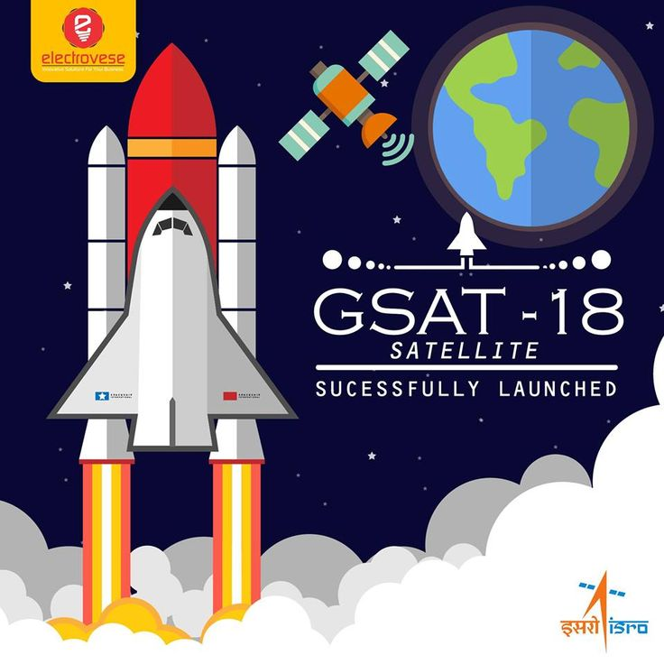 GSAT-18 successfully launched by Ariane-5 VA-231 from Kourou, French Guiana! ISRO - Indian Space Research Organisation #ISRO #GSAT18