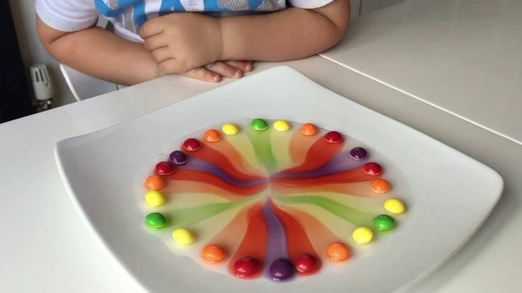 This is a simple science experiment with Skittles that every child has to try…