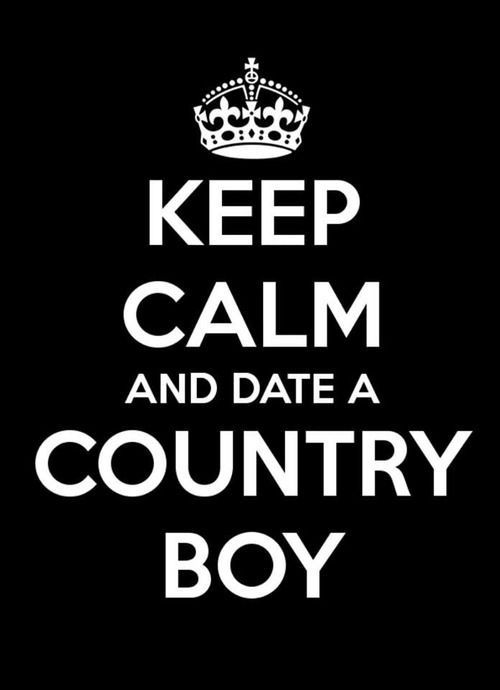 Dating a country boy
