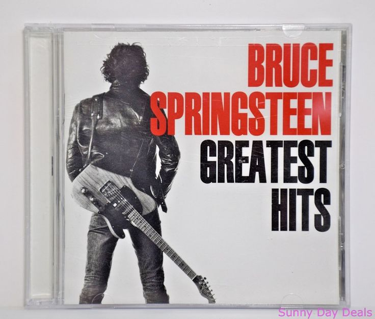 Bruce Springsteen Greatest Hits CD February 1995 Columbia Records USA #HardRock