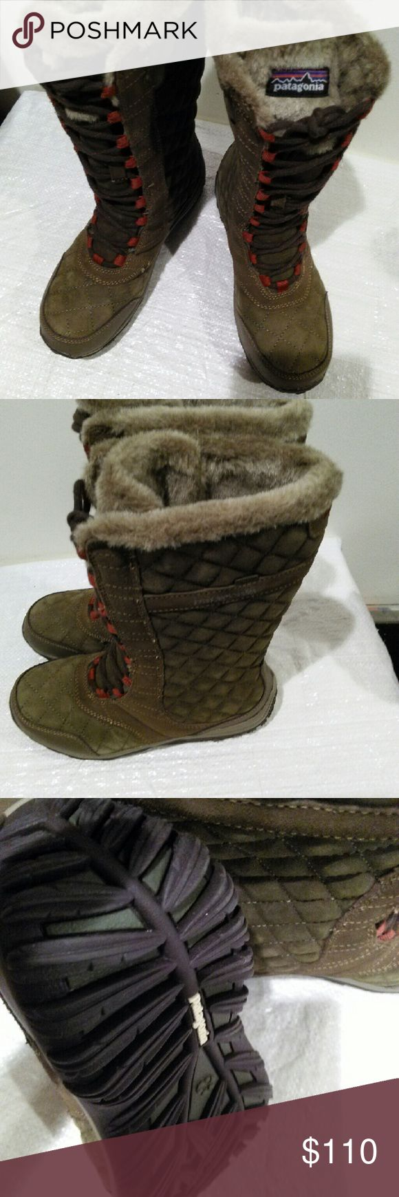 Female Patagonia winter boots Brand New and never worn Patagonia Shoes Winter & Rain Boots