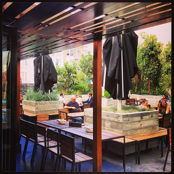 Jones: Who doesn't love a rooftop bar? Always a go-to spot for drinks but is also a good destination for dinner or brunch.