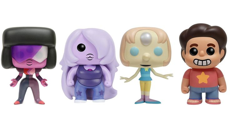 The Crystal Gems Are Cuter Than Ever in Funko's Amazing Steven Universe Toys