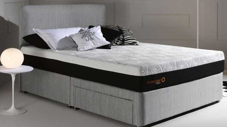 £1,049.99 kingsize mattress The Octaspring 5500 mattress product specification Depth 20cm 1 Octaspring Layer 3 Body Zones Firm Comfort Rating Head to toe rotation Layer 1:3 Zone Memory Foam Octaspring springs which are topped with a luxury memory foam layer of 9cm Breathable Ecocell Layer 11cm Itallian design Octaspring cover with a zip, cover is removable and washable at 30 degrees.