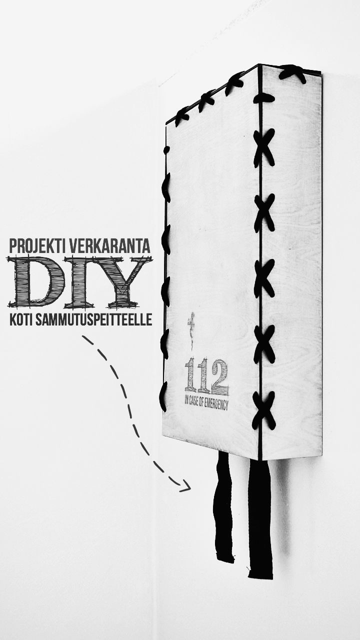 SAMMUTUSPEITTEEN KOTI // DIY
