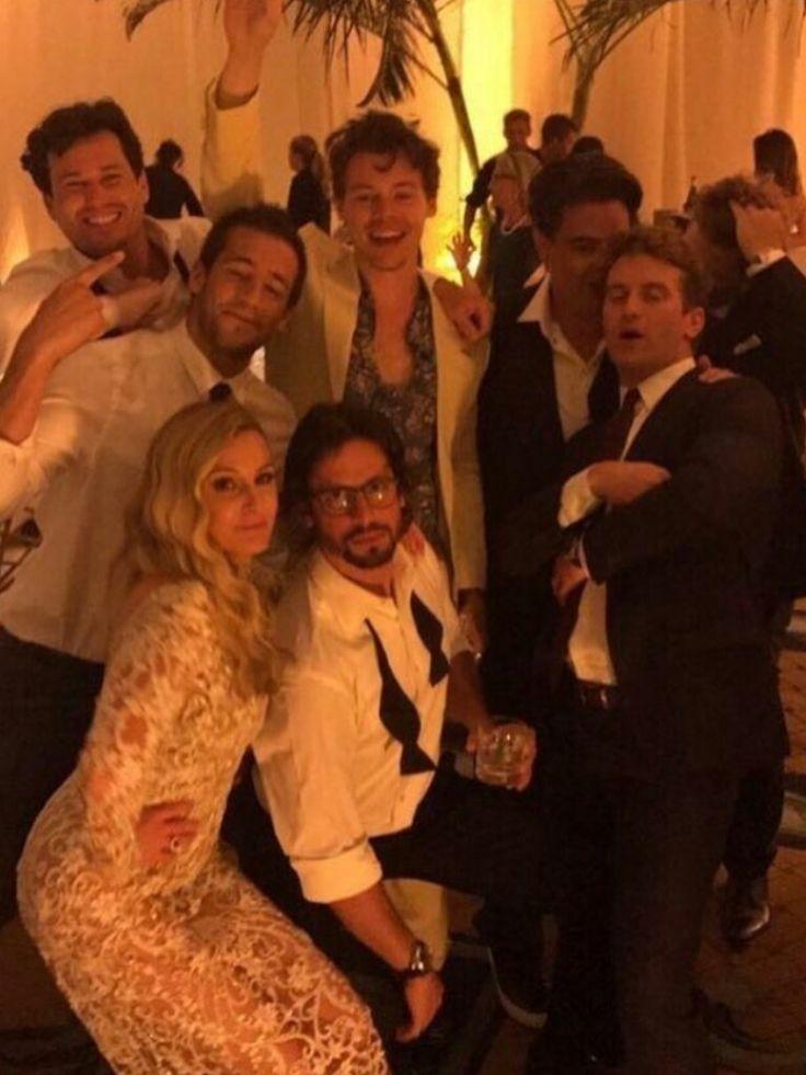 Harry at Jon Geller's wedding in Hawaii 03/06/2017.