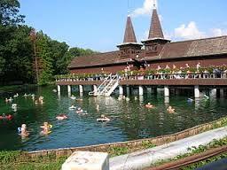 Hévíz - tófürdő