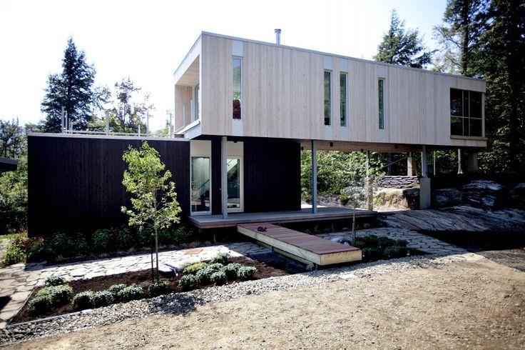 les 25 meilleures id es de la cat gorie maison conteneur sur pinterest maisons containers. Black Bedroom Furniture Sets. Home Design Ideas