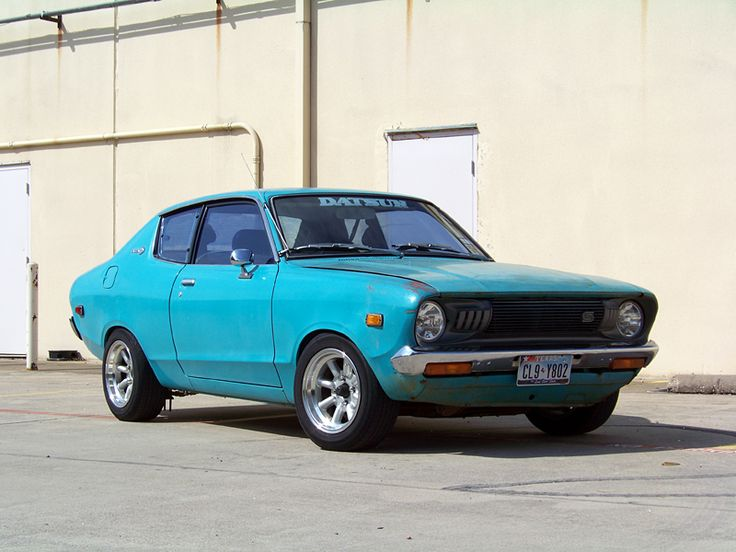 Datsun B210. What a beautiful car...said no one ever.