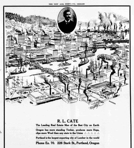 Portland Real Estate ad, circa 1906.