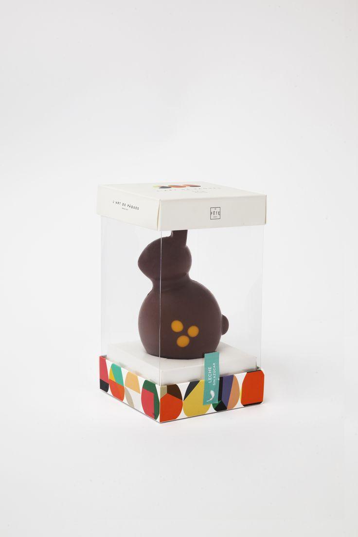 Celebra L Árt de Pâques con nuestro maravilloso conejo de Pascua de leche sin azúcar