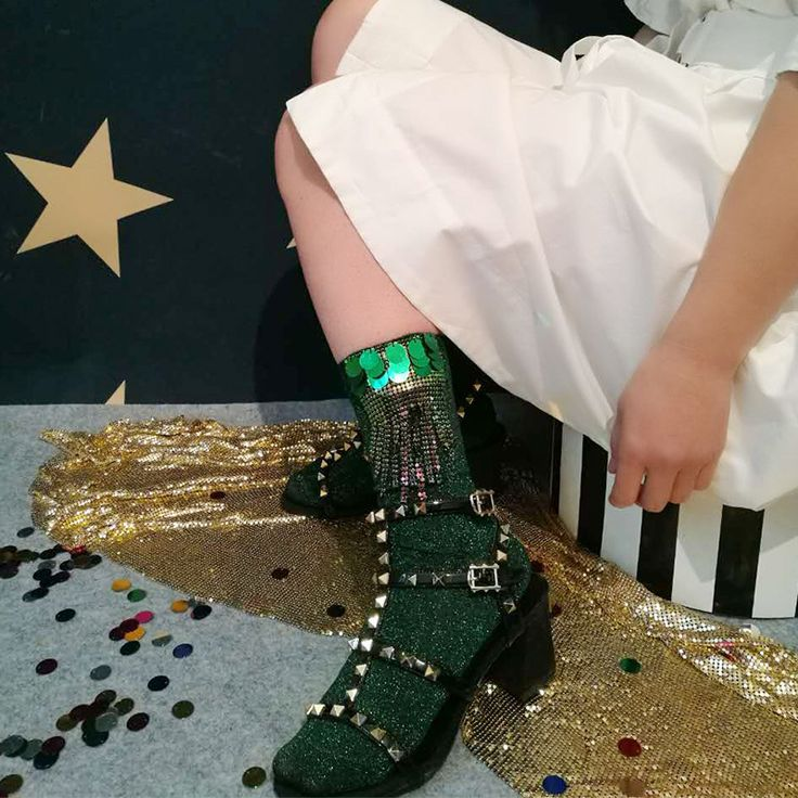 2017 new trendy high fashion vintage handmade tassels  glitter woman socks  #Affiliate