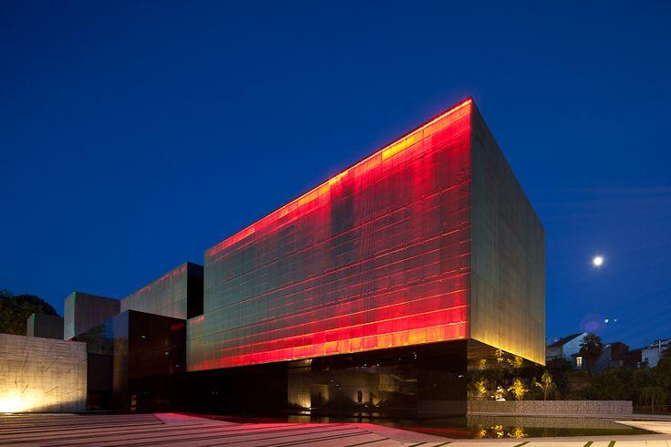 Modern architecture buildings designs the Arts Jose Guimaraes