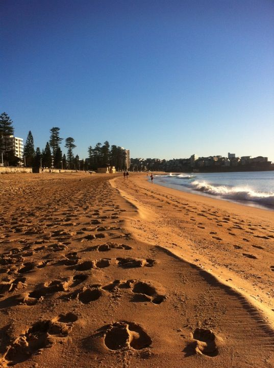 North Steyne Beach in Manly, NSW