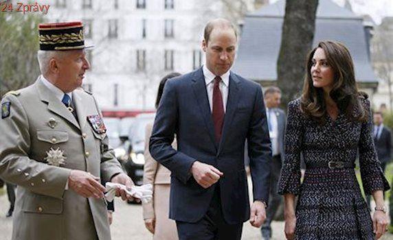 William v Paříži řekl, že brexitem se vztahy s Británií nezmění