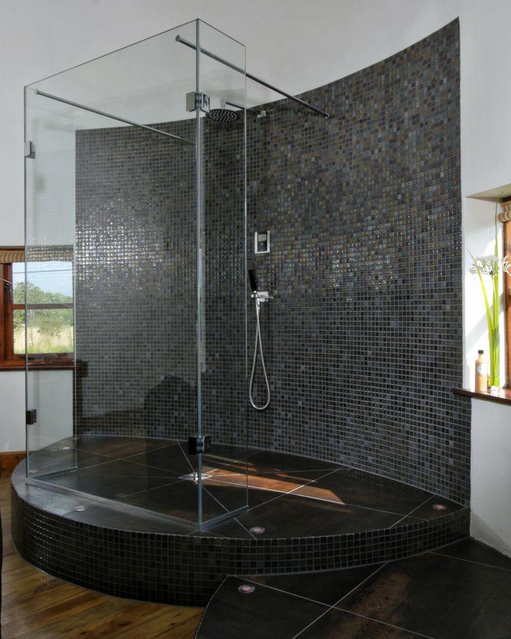 Stunning Oast house bathroom renovation with VADO Identity digital shower, beautiful, seamless mix of traditional & modern design.