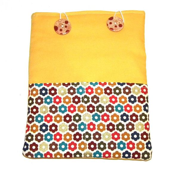 Fresh Autumn Flowers iPad pouch with by pennydogillustration, $26.00