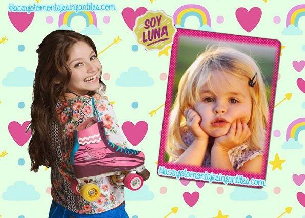 Hacer fotomontaje de Soy Luna gratis   Fotomontajes infantiles