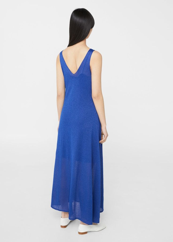 Fijn gebreide jurk | MANGO