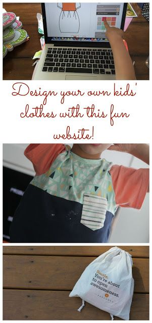 Design Your Own Kids' Clothes Online.