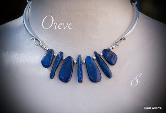 Hey, I found this really awesome Etsy listing at https://www.etsy.com/listing/269909120/necklace-lapis-lazuli-leather-silver