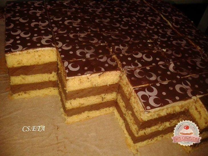Csoki szelet Eta módra