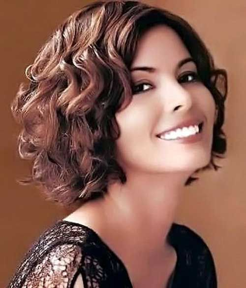 awesome 20 Cute Short Haircuts For Curly Hair