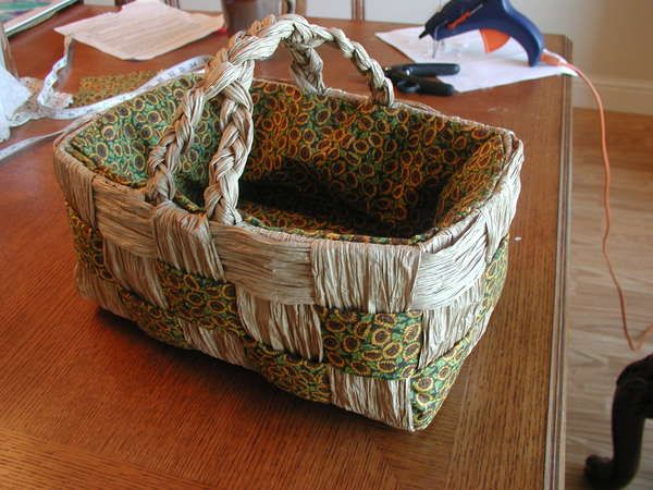 17 Best Images About Paper Bag Basket On Pinterest Brown