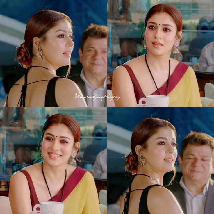 Pin by Dhan Sekar on nayanthara in 2020 | Backless blouse ...