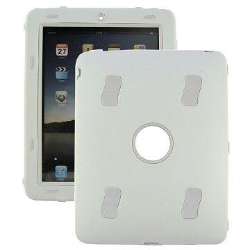 Ultra Safe - Kick Stativ (Hvit) iPad 3 Deksel