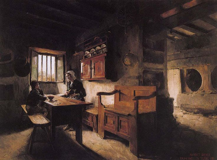 Gallery Of The Masters Fine Art Listed By Country And Alphabetically Painting Harriet Backer Entitled Interior