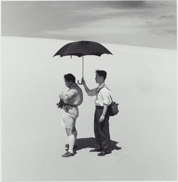 Photograher & Assistant by Ken Domon