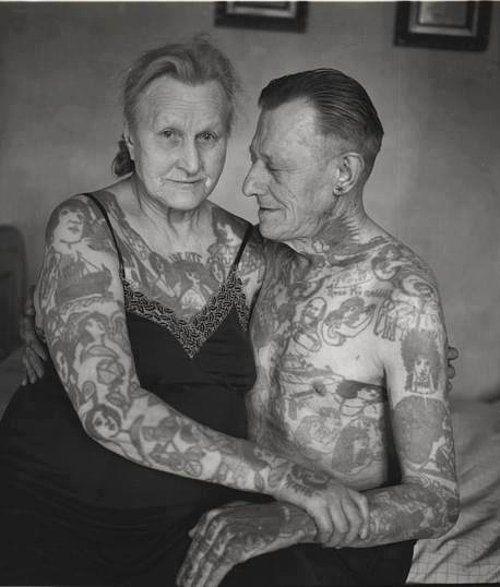 """Dövme Sahiplerinin """"40 Yıl Sonra Nasıl Gözükeceğiz"""" Sorusuna Cevap Veren 24 İnsan – Allexa Huides"""