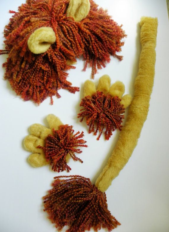 Ginger Lion Costume Accessories