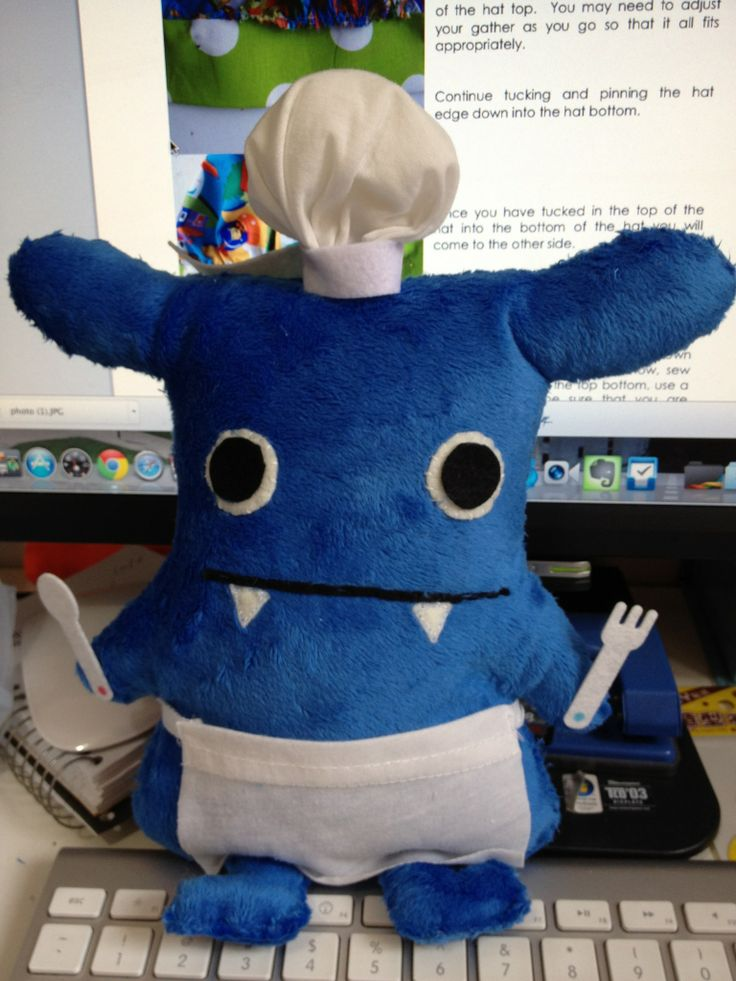 How to Make Your Own Monster Plush Doll!: Sewing Dolls, Crafts Ideas, Monsters Parties, Monsters Plush, Fartsi Crafts, Crafty Crafts, Plush Monsters, Dolls Patterns, Plush Dolls