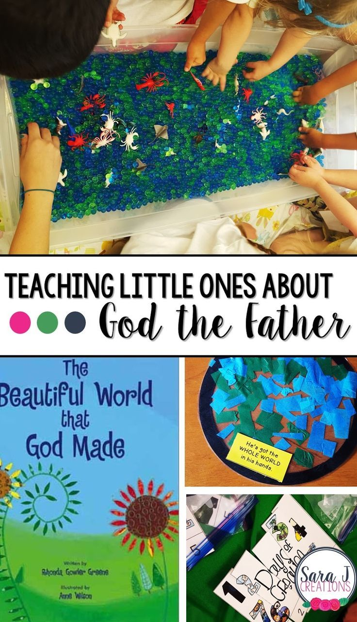 Vacation bible school crafts ideas - Teaching Preschoolers About God The Father