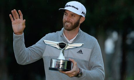 Dustin Johnson hopes to follow victories in the Genesis Open and WGC Mexico Championship with another this week in the WGC Match Play in Austin