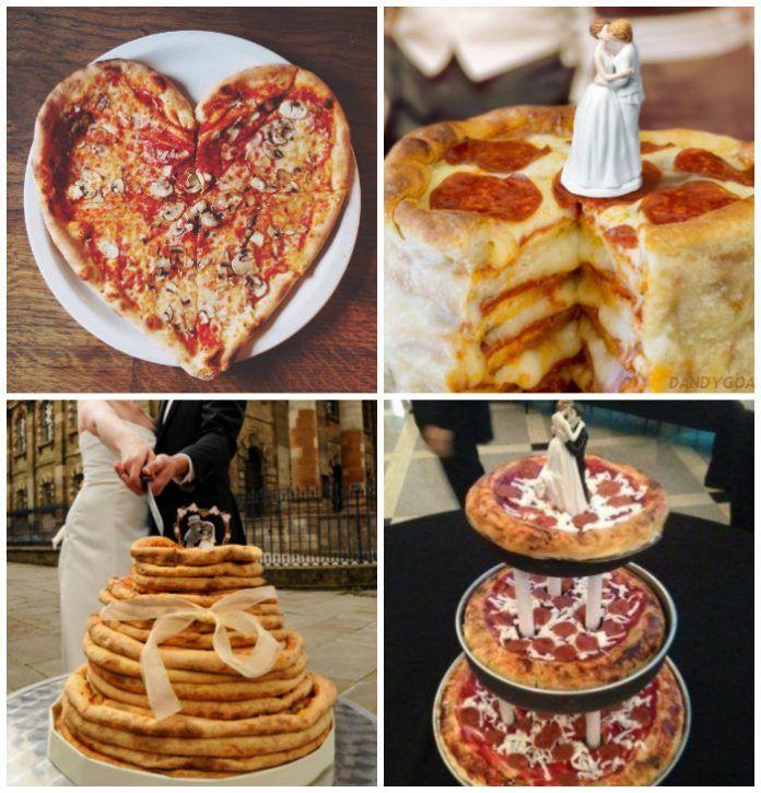 Pizza Wedding Cakes