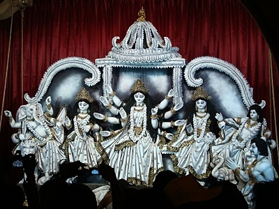 South Kolkata Durga Puja Images