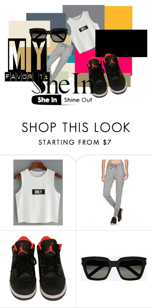 Know your day by neelanjana-rumbangsha-railepcha on Polyvore featuring Fila, NIKE and Yves Saint Laurent