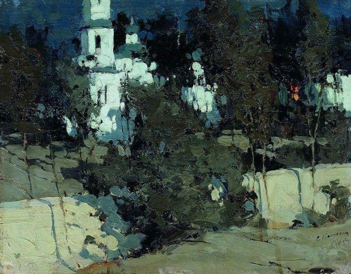 Лунная ночь2 Автор: Колесников Степан Федорович