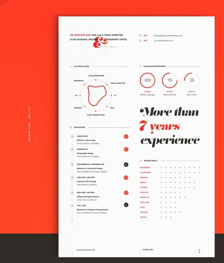 My New Resume Cv On Behance In 2020 Graphic Design Resume Resume Design Resume Cv
