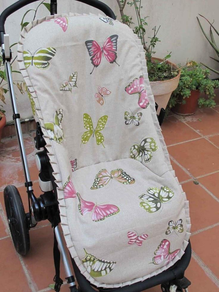 FUNDA LARGA BUGABOO mariposas