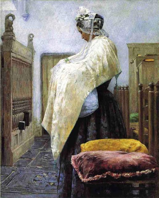 It's About Time: Dutch Women by American George Hitchcock 1850-1913