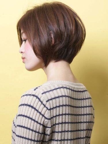 「カジュアル×コンサバ」ショートヘア | 青山・表参道の美容室 AKsのヘアスタイル | Rasysa(らしさ)