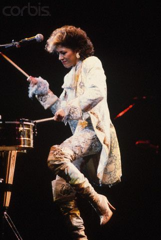 SHEILA E. 80's kickass percussionist / singer. Do you know how hard it is to do both simultaneously [well]?!