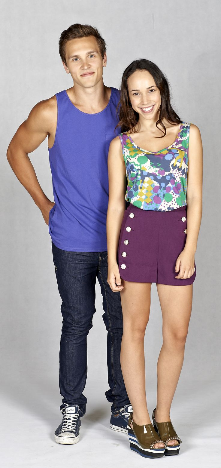 Joshua and Imogen Willis - played by Harley Bonner and Ariel Kaplan. #neighbours #twins #willisfamily #thecast