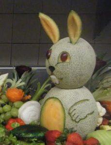 Cantaloupe bunny by Jean Geraldo Silva