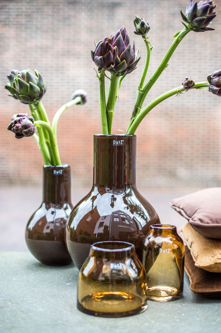 46 best vases and pots images on pinterest vases jars and glass art vase avesta in cognac and vase mery in brown reviewsmspy
